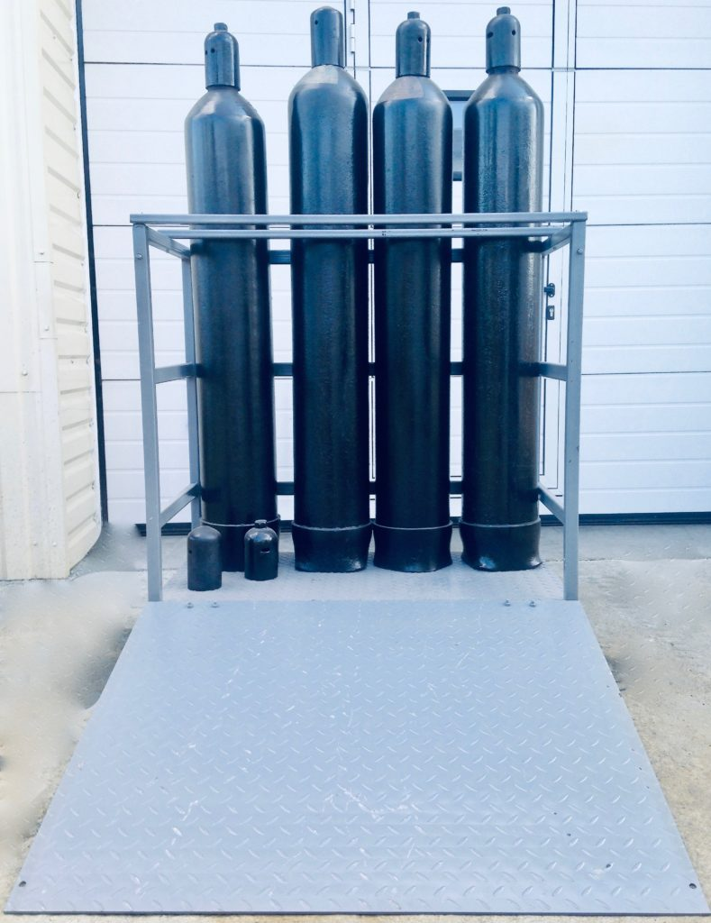Купить Gas Cylinder Racks and Stands